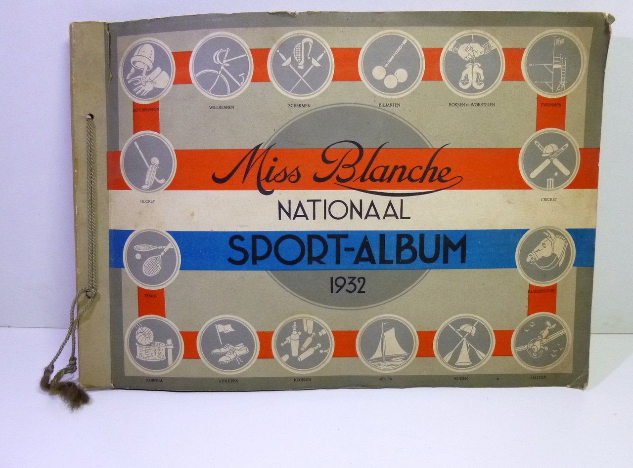 Miss Blanche Nationaal Sport-Album 1932