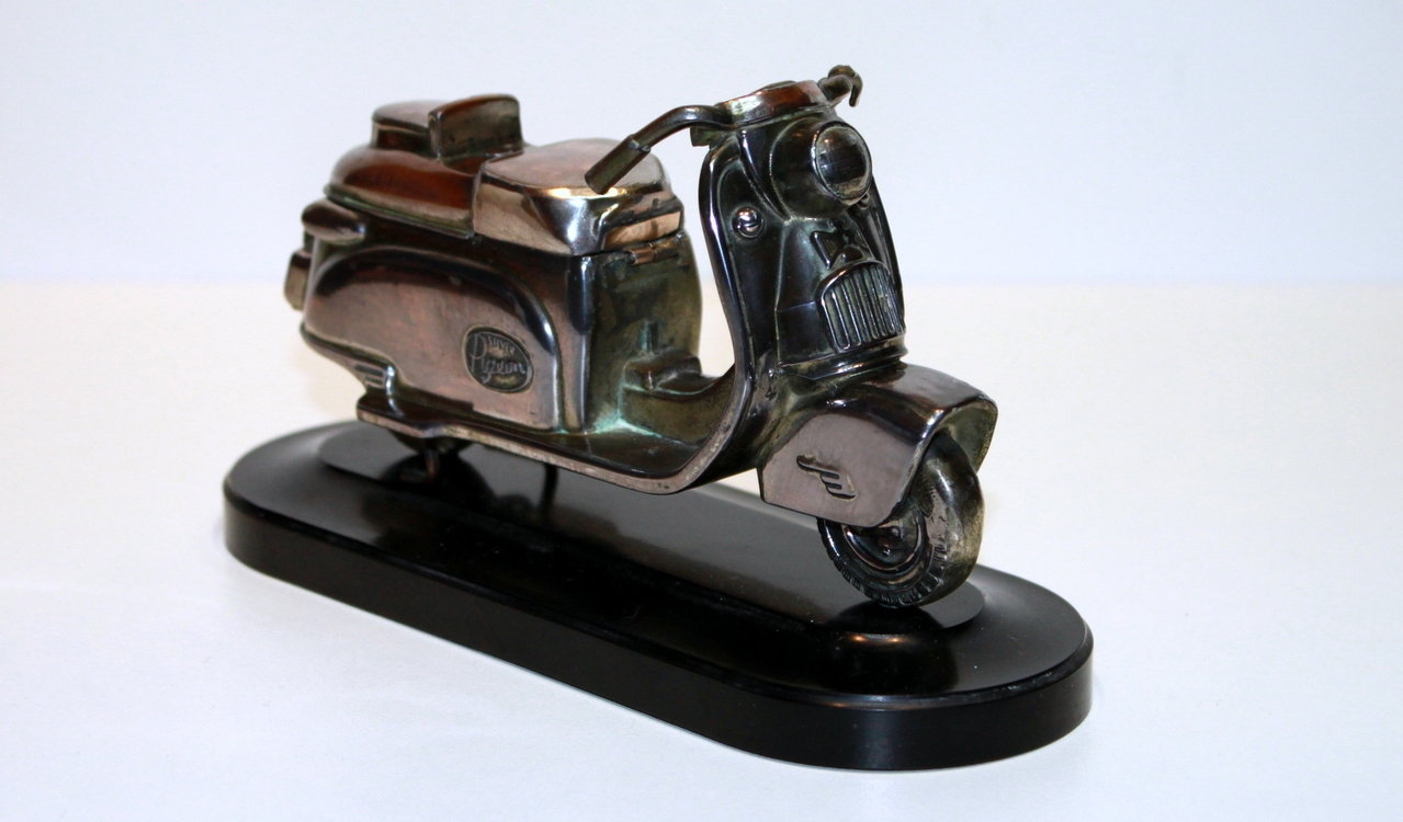 "Zeldzame ""Silver Pigeon"" Scooter 1950's !!"