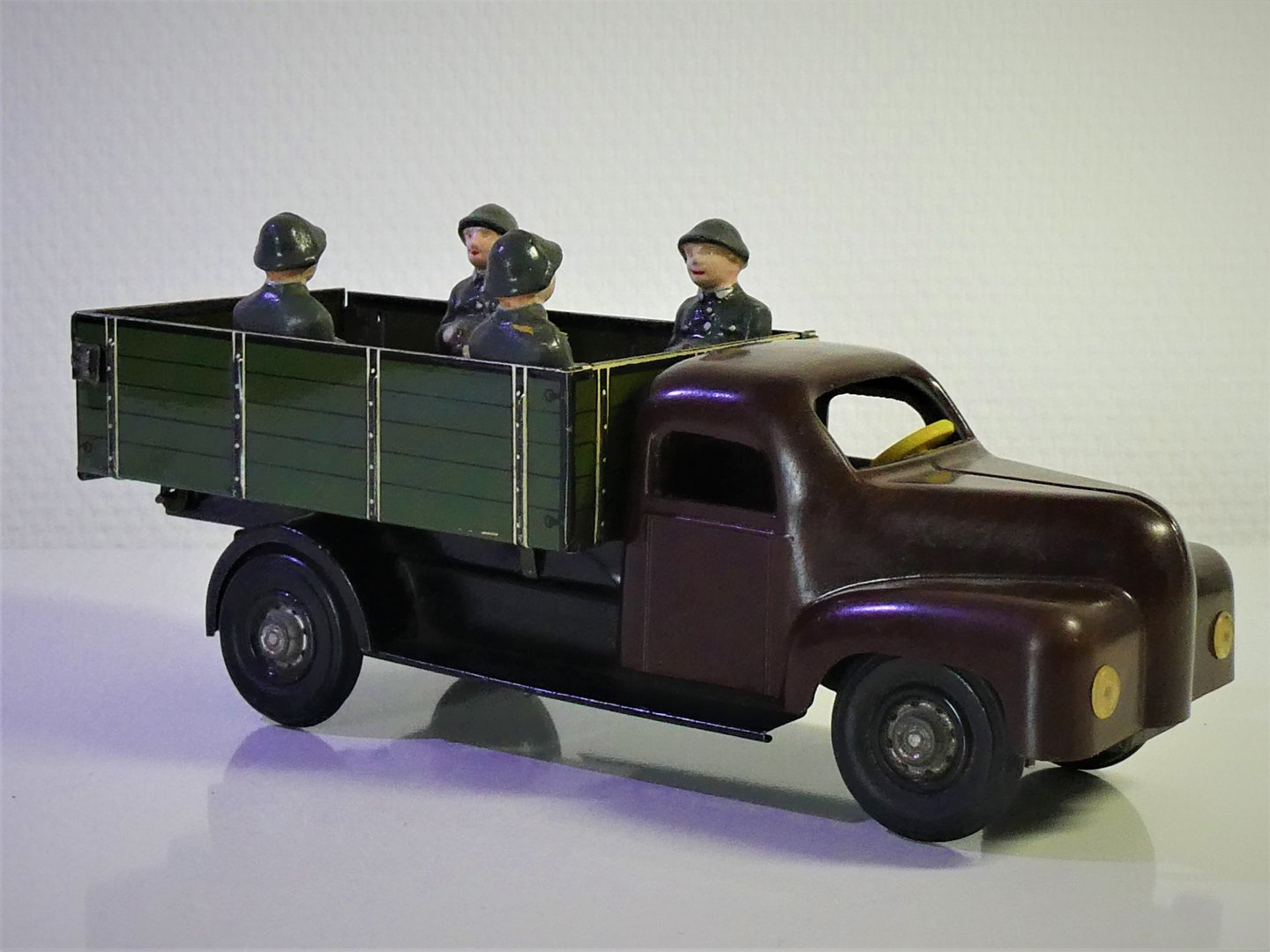 MS-Brandenburg # 1950's Bakelit Military Truck / LKW , clockwork