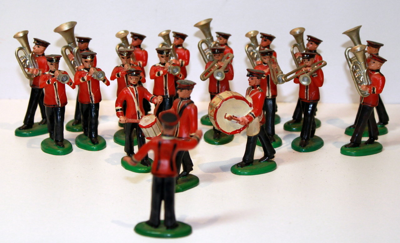The Salvation Army / Leger des Heils Miniatuur figuren 1960's !!