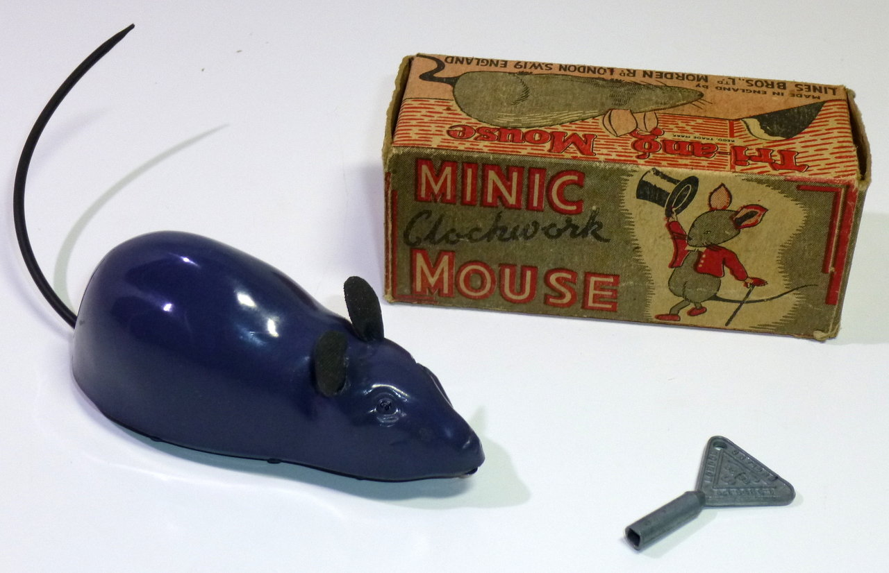 Triang Minic # 1950's Mouse in Orig. Box !!