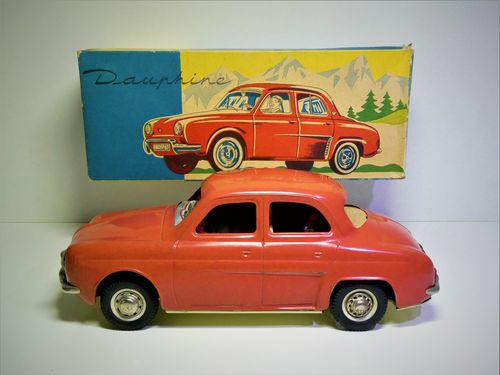 Joustra (France) # 1960's RENAULT DAUPHINE  in Original Box !!