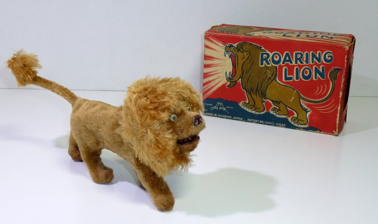 "ALPS # 1940's ""ROARING LION"" in Original Box !!"