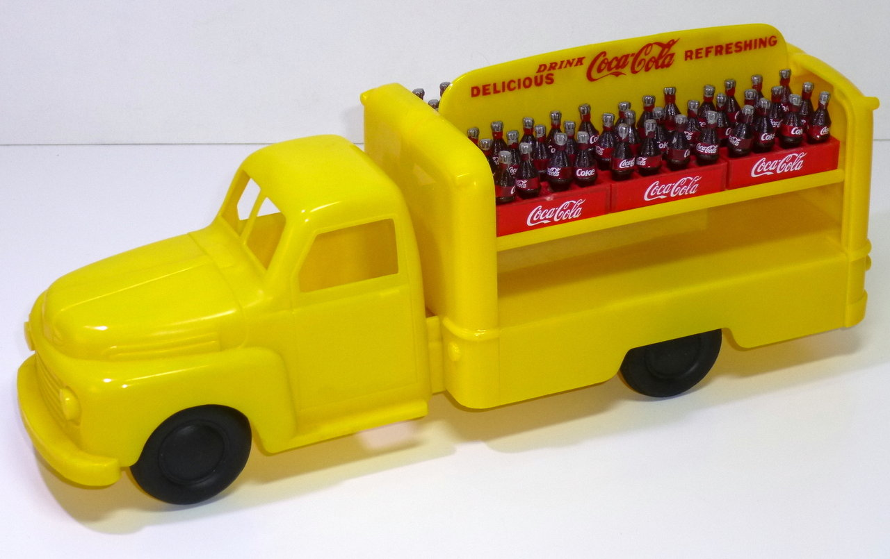 "Marx (USA) # 1950's FORD V8 ""Coca-Cola"" Delivery Truck"